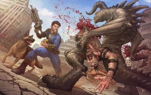 Poster A3 Fallout 4 Videojuego Videogame Shooter Cartel Decor Impresion 02