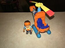 """Mattel Go Diego - Go To-the-Rescue Helicopter With 3"""" Figure (S3)!"""