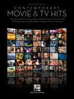 Contemporary Movie & Tv Hits Sheet Music Piano Vocal Guitar Songbook N 000121672