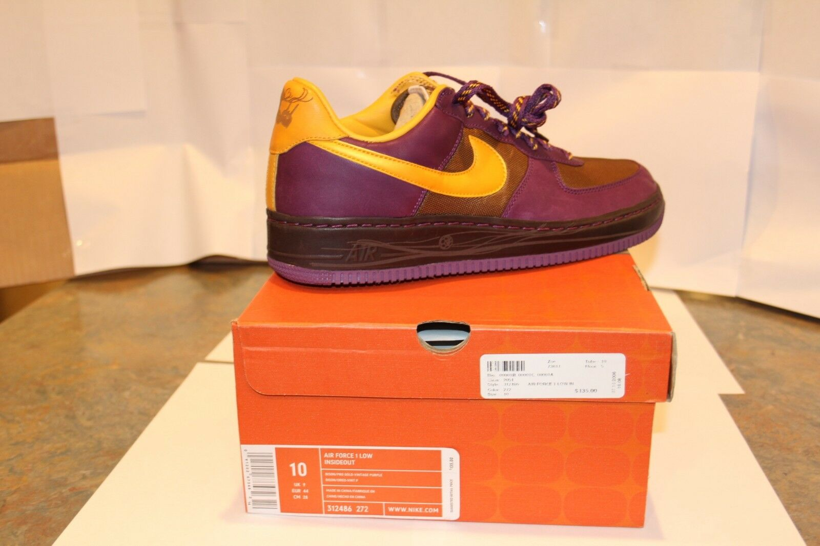 Nike Air Force 1 Low – Inside Out Bison 2006