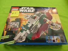 LEGO * NUOVO * 8097 STAR WARS SLAVE I 2010 #2 Boba Fett, BossK, Hans Assolo, Bespin