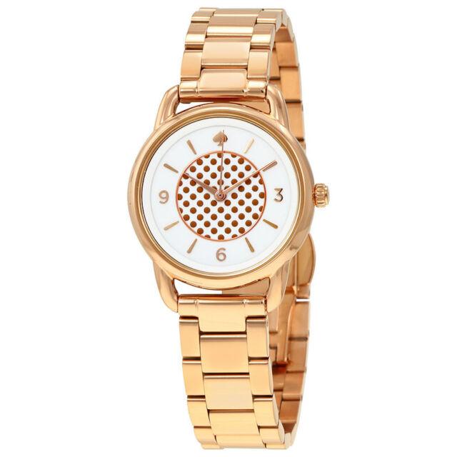 Kate Spade Ny Boathouse Rose Gold Stainless Bracelet Watch 30mm Ksw1167 225 00