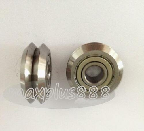 5pc RM3ZZ 12*45.72*15.88mm V Groove Sealed Ball vgroove Bearing