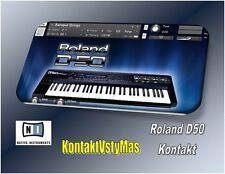 Roland D50 For Kontakt.