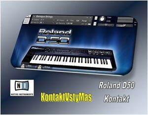 Details about Roland D50, Korg X5D, Korg Kronos For Kontakt  Over 450  sounds