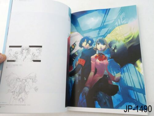 Soejima Shigenori Art Works 2004-2010 Persona Atlus Japanese Illustration Book