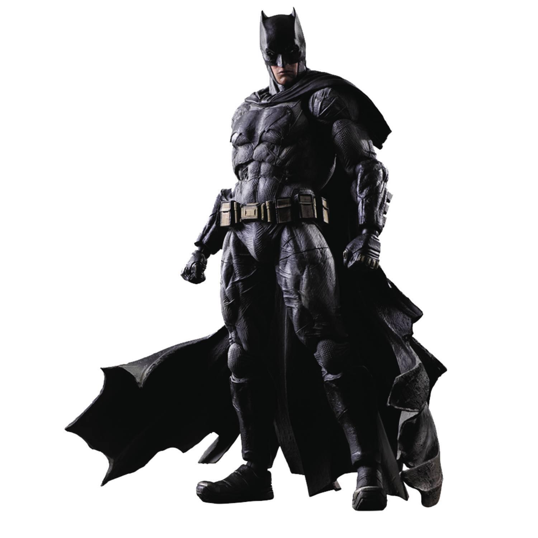 BVS DAWN OF JUSTICE BATMAN Play Arts Kai Action Figure SQUARE-ENIX  MIB