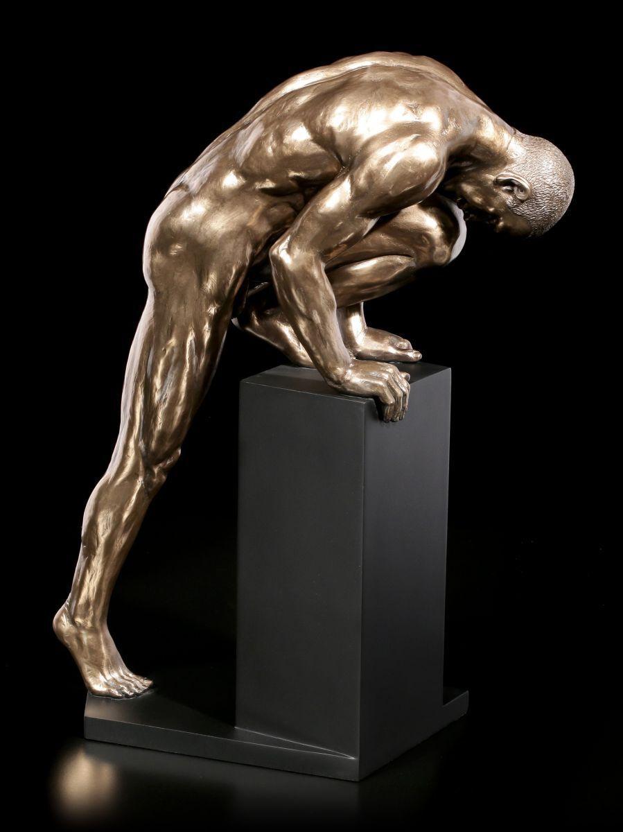 Hombre Desnudo Figura - sobre Podest Creciente - Grande - Veronese Sexy Mann