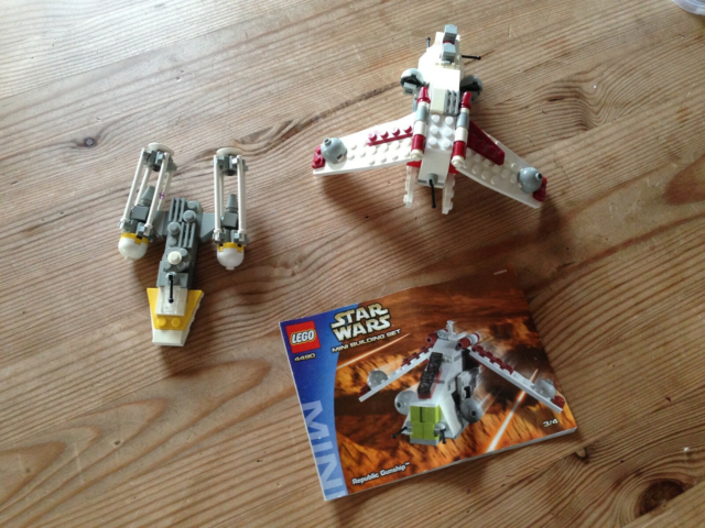 Lego Star Wars, 4490 - Republic Gunship - Mini, Lego Star…