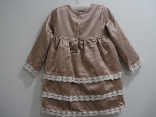 Wendy Bellissimo Party Dress 2-Pc Set 18 Months Cocoa Portraits Special Occasion