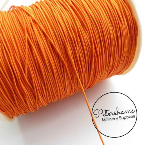 4 Colores Disponibles! Sombrero Redondo 1.5mm Elástico Para tocados /& Sombrerería