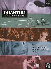 Prospetto Quantum Instruments product catalog 2000 2001 FOTO ACCESSORI CATALOGO USA