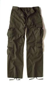 di 2786 militare drappata verde Pantaloni oliva Rothco da vintage fatica tattici oliva UnPFqIA