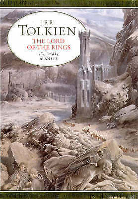 1 of 1 - Rare 1991 The Lord of the Rings  JRR Tolkien Illustrated by Alan Lee Hardcover