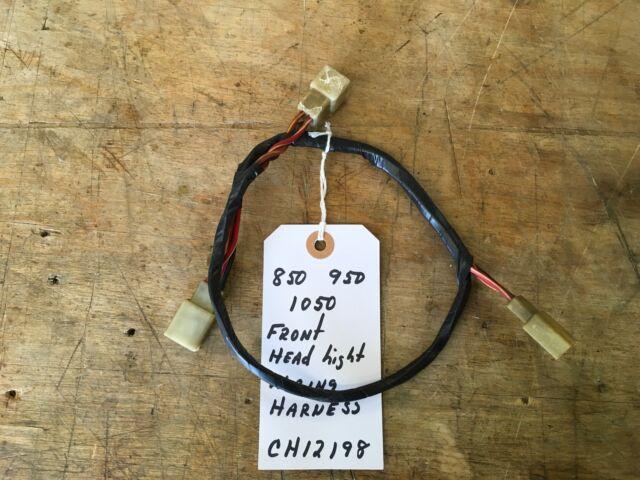 john deere 850 950 1050 tractor front headlight wiring harness rh ebay com john deere 850 wiring harness john deere 950 engine rebuild kit