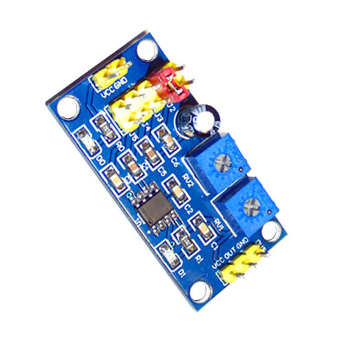 NE555 pulse frequency adjustable module Square//square wave signal generator