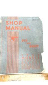 1935-PONTIAC-6-8-Original-Work-Shop-Manual-Good-Condition-US