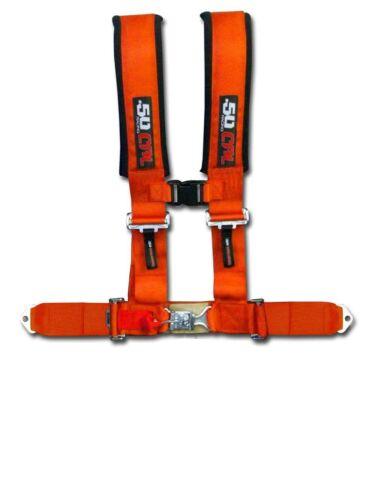 2015 Orange Polaris RZR XP1000 XP900 Performance 4 Point RZR4 Seat Belt Harness