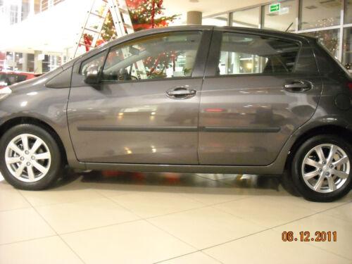 Toyota Yaris III 5d Protector De Puerta De Protección Lateral Molduras//// Tiras de frotamiento