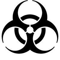 Biohazard Car Decal Vinyl Sticker