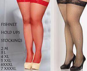 2276880bc6760c fishnet stockings Hold Ups many colours 2M 3L 4XL 5XXL 6XXXL 7XXXXL ...