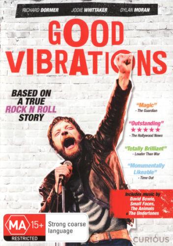 1 of 1 - Good Vibrations * NEW DVD * Dylan Moran Jodie Whittaker Richard Dormer