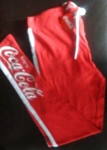c5d328e0 Ladies COCA-COLA Pyjama Leggings size 10-12 official Licensed  Damenunterwäsche