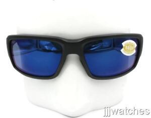 35f662c4e3 Costal Del Mar Fantail Matte Black Blue Polarized Sunglasses TF 11 ...