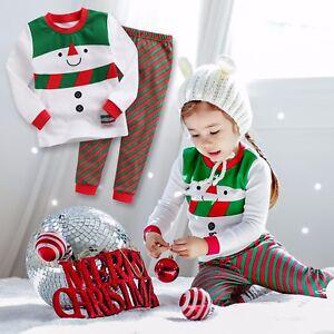 20c407a554 Image is loading Vaenait-Baby-Kids-Boys-Girls-Christmas-Clothes-Pajama-