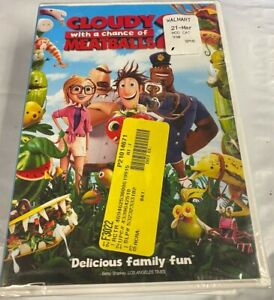 💢 New, Cloudy with a Chance of Meatballs 2 (DVD), Free Shipping