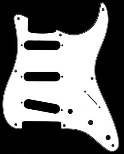 Stratocaster 8-Hole Scratchplate Pickguard SSS to fit Fender USA//MEX