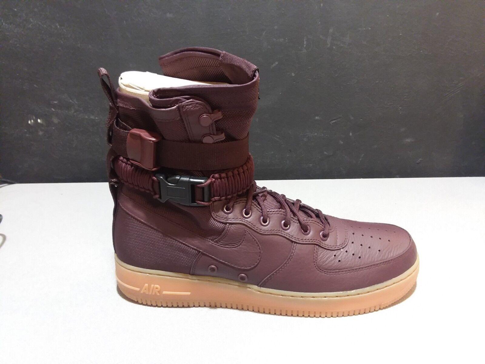 Nike SF Air Force 1 Deep Burgundy Gum Size 13