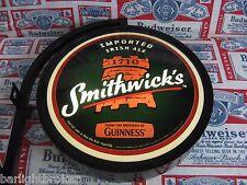 NEW VTG 2007 GUINNESS SMITHWICK'S BEER Bar Sign Beer Light IRISH PUB PRO MOTION