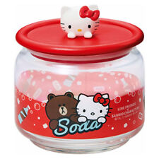 Oh SK Osomatsu/'s x Sanrio Characters sealed container 3P set Red Osomatsu x