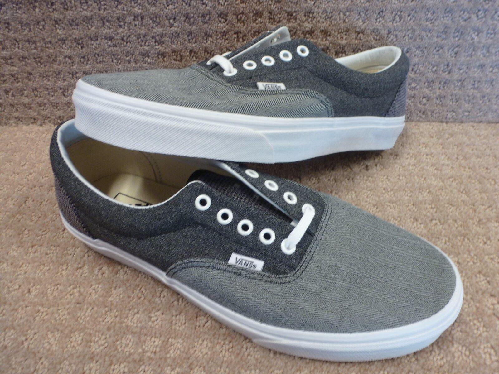 Vans Men's shoes's  Era  -- color (Suiting Mix) Black True White