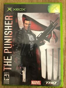 The-Punisher-Microsoft-Xbox-Complete-W-box-amp-Manual