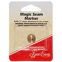 Sew Easy Magic Seam Marker Guide   Adds 6mm allowance to any shape