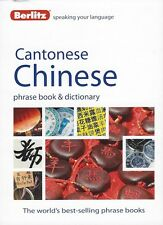 Berlitz Cantonese Chinese Phrase Book & Dictionary *IN STOCK IN MELBOURNE - NEW*