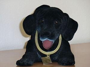 Grosser-Wackelhund-wie-Labrador-in-schwarz-Neu