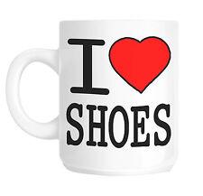 I Love Heart Shoes Gift Mug