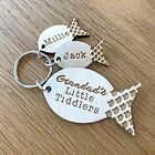 Personalised Fathers Day Wooden Fishing Keyring Dad Grandad Papa Keyring Gift