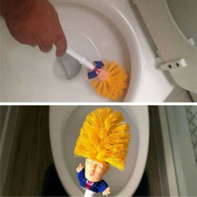 Image result for trump toilet brush