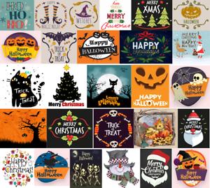 DMC-Modern-Holiday-Christmas-Halloween-Cross-Stitch-Pattern-Chart-Kit-14-Count