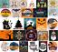 DMC-Modern-Holiday-Christmas-Halloween-Cross-Stitch-Pattern-Chart-Kit-14-Count thumbnail 1