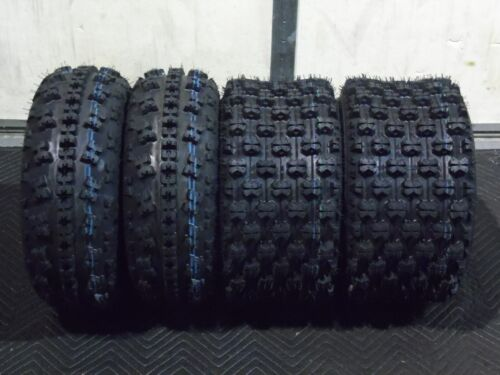 All 4 Tires Yamaha Raptor 660 700 2001-2017 21x7-10 /& 20x10-9 ATV TIRE SET