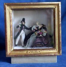 M. Philippart Mode 1860 French Fashion Doll Diorama Scene Switzerland Vintage