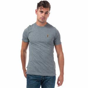 Homme Luke 1977 Pantalon Tape à encolure ras-du-cou T-shirt en Coton en Noir