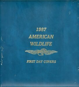 US-FDC-2286-2335-AMERICAN-WILDLIFE-FIRST-DAY-COVERS-SET-OF-50-IN-CATALOG-1987