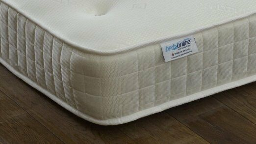 MEMORY FOAM PLUS OPEN COIL CREAM BORDER ULTRA-COOL TOUCH MATTRESS NOW AVAILABLE