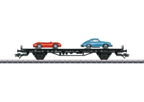 """Märklin 45052 Autotransportwagen /""""70 Jahre Porsche-Sportwagen 2/""""#NEU in OVP#"""